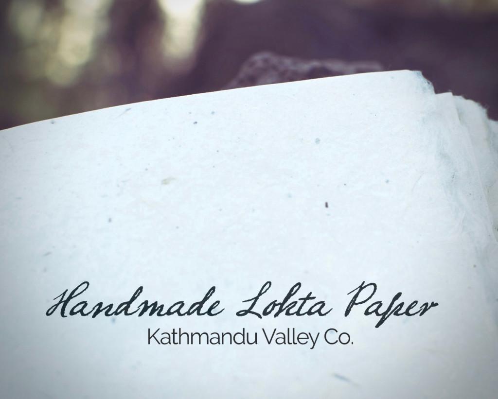 Handmade Lokta Paper - Kathmandu Valley Co.