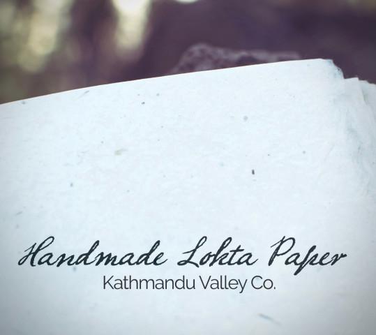 Handmade Nepali Lokta Paper