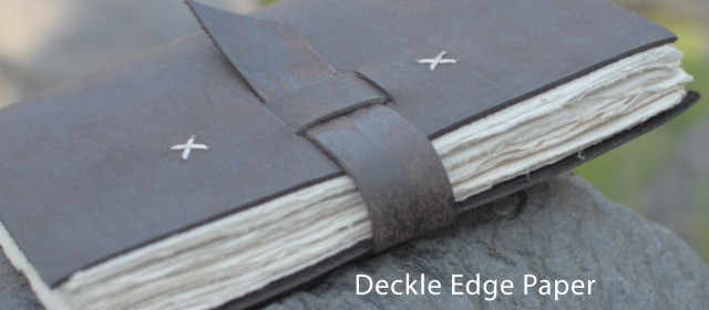 Answered. What is Deckle Edge Paper?