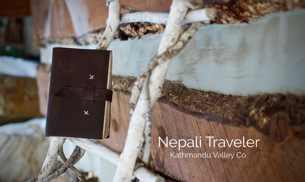 Rugged Nepali Traveler Journal Made in Nepal