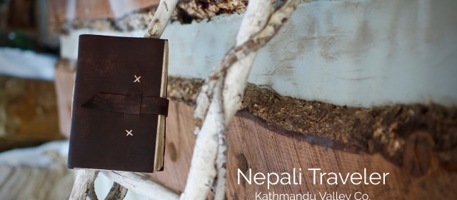 Steps to Adventure – The Nepali Traveler Leather Journal