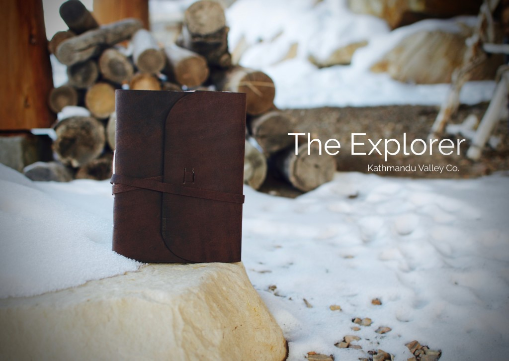 Rustic Leather Everest Explorer Journal