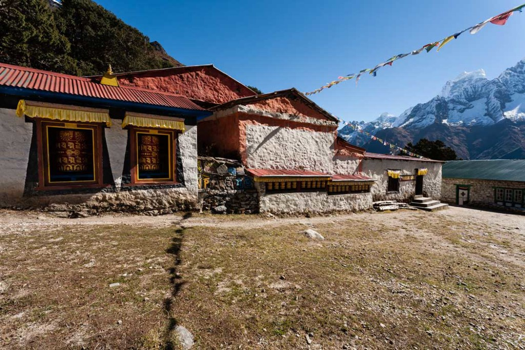 Khumjung Monastery - Yeti Scalp Location