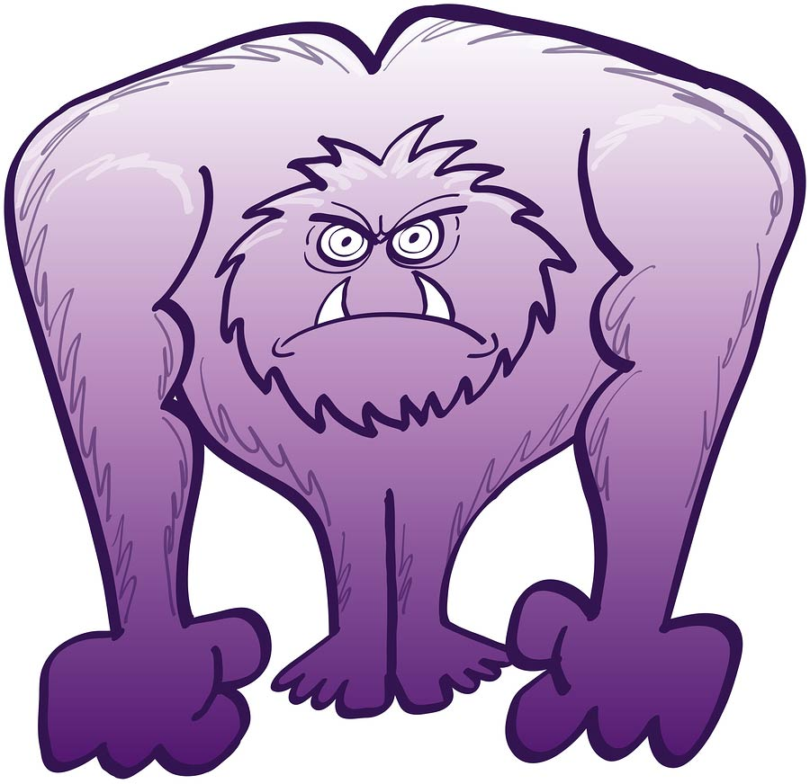 The Angry, Purple Yeti