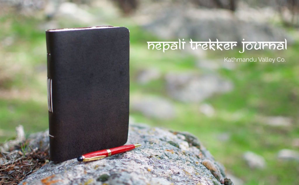 Nepali Trekker Vintage Journal - Dark Walnut
