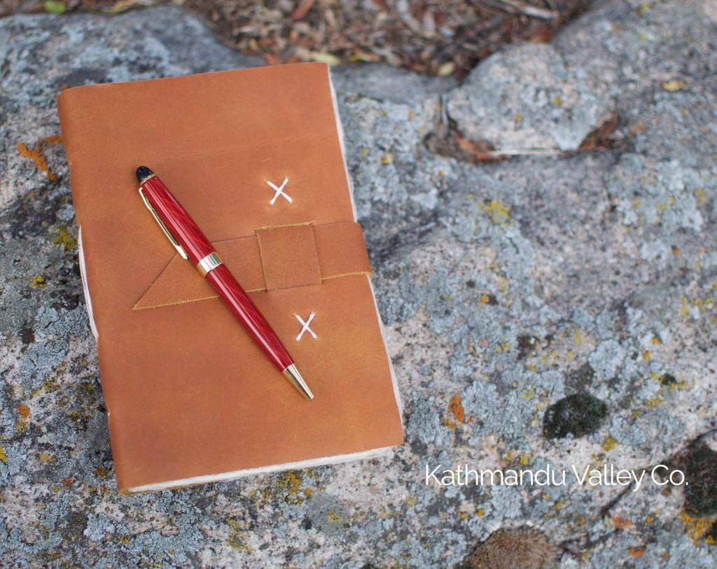 Nepali Traveler Journal with pen