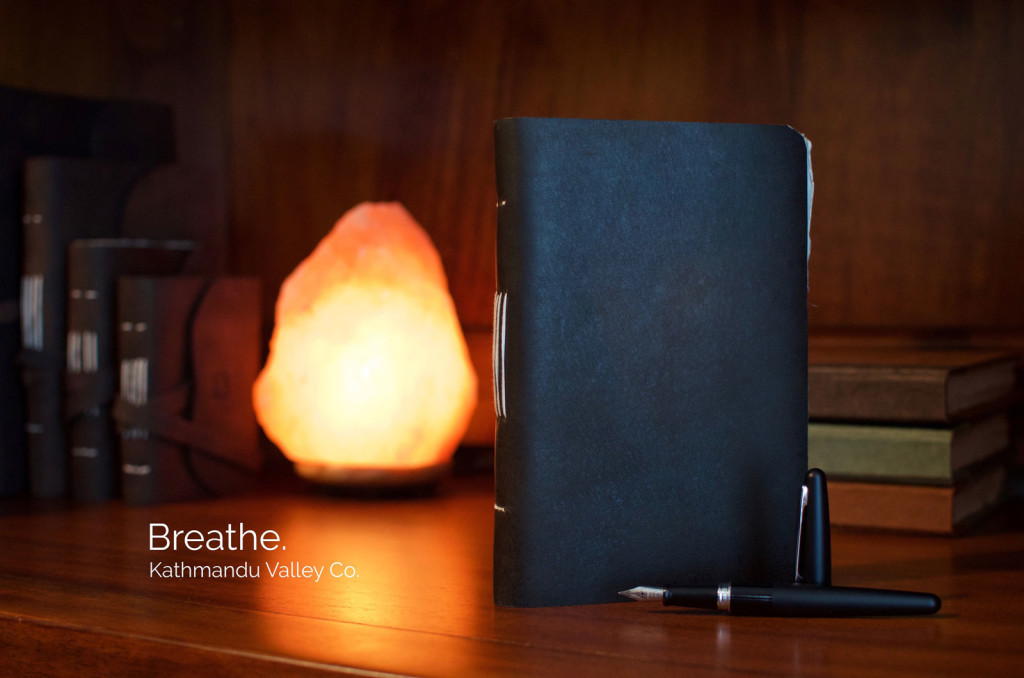 Trekker Rustic Leather Journal by Kathmandu Valley Co.