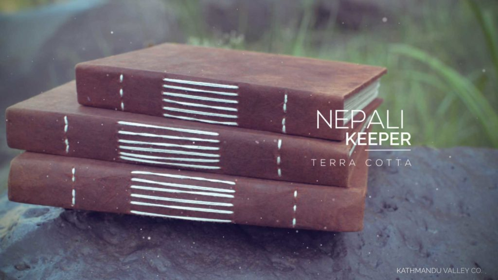 Nepali Keeper Journal - Vegetable Dyed - KMVCO