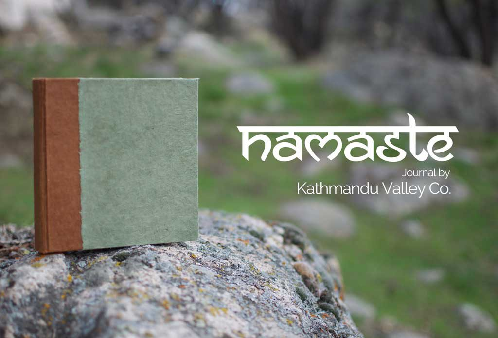 Lokta Paper Namaste Journal by Kathmandu Valley Co.