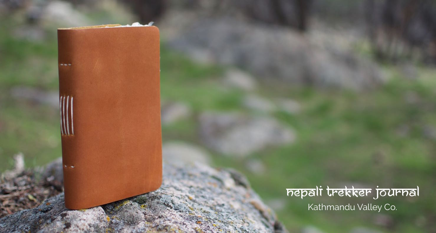 Capture your Adventures with the Nepali Trekker Vintage Journal
