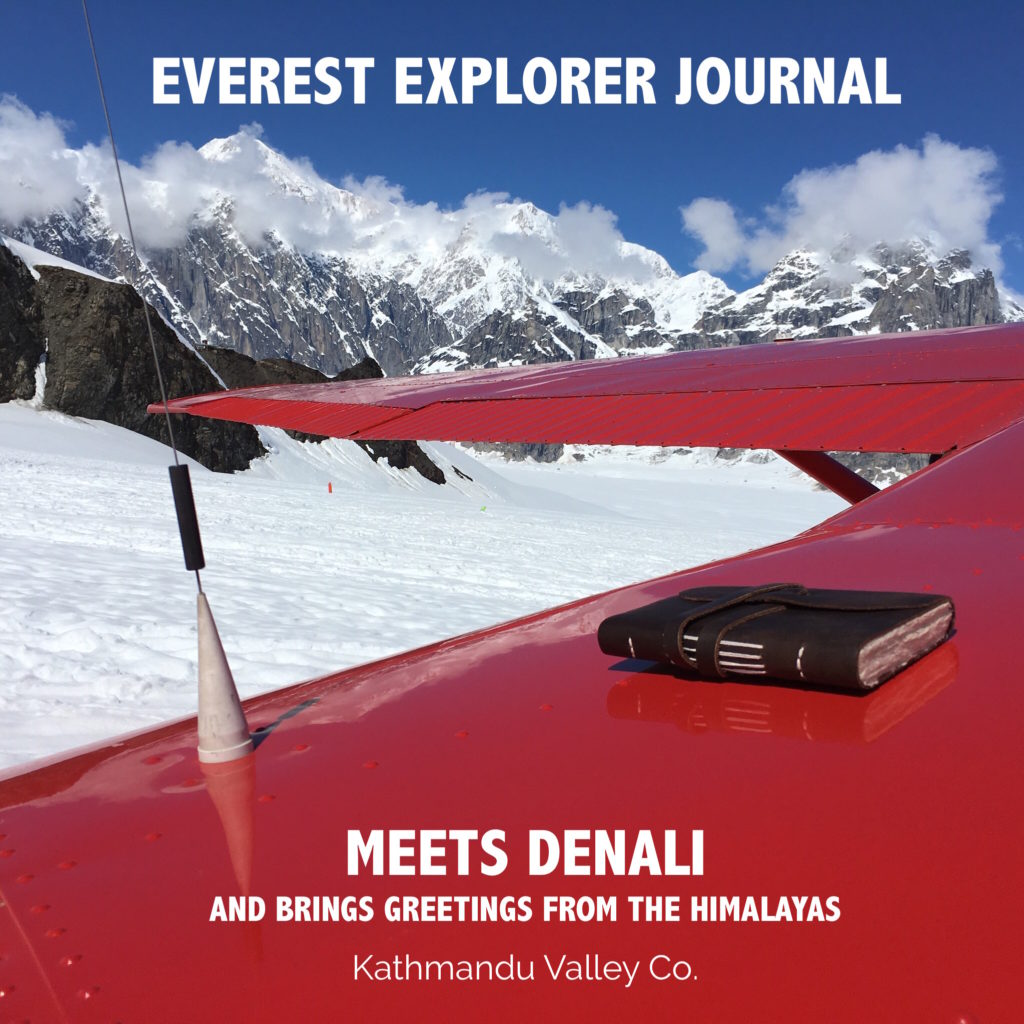Everest Explorer Journal meets Denali in Alaska