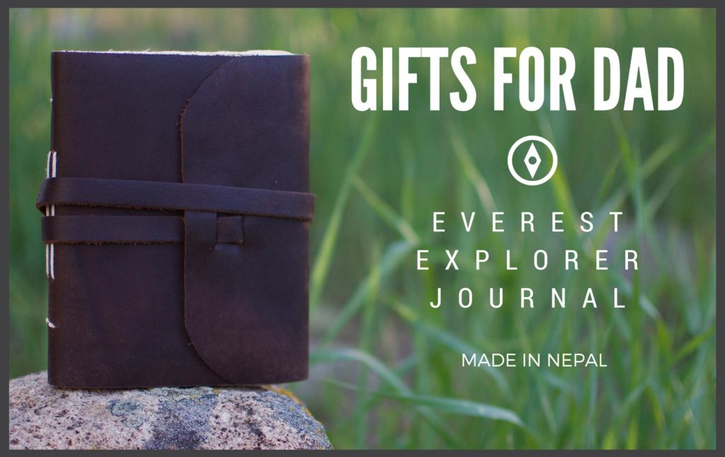 Gift Ideas for Dad - Everest Explorer Journal