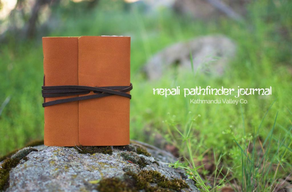Nepali Pathfinder Leather Journal - Kathmandu Valley Co.