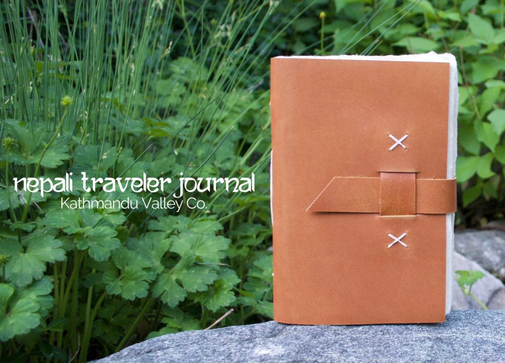 Nepali Traveler Leather Rustic Journal