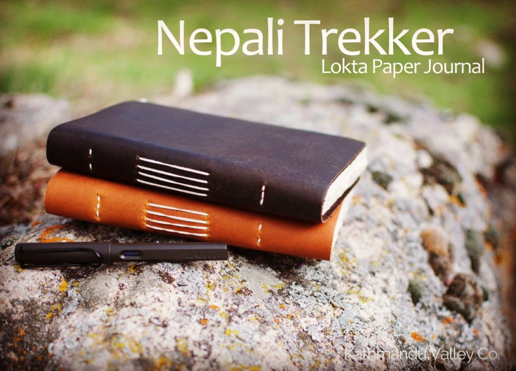 Nepali Trekker Rustic Leather Journal - Handmade by Kathmandu Valley Co.