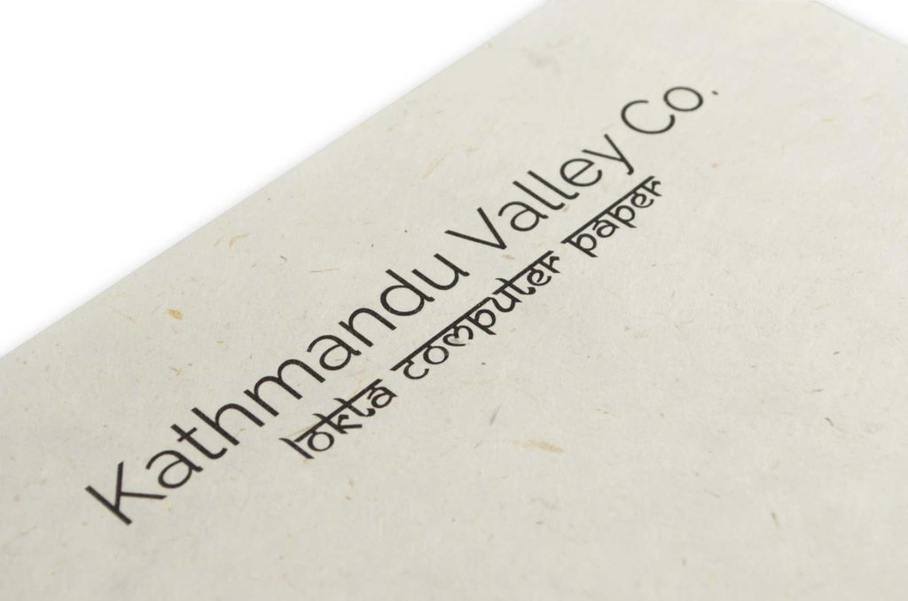 Kathmandu Valley Co. Natural Computer Paper