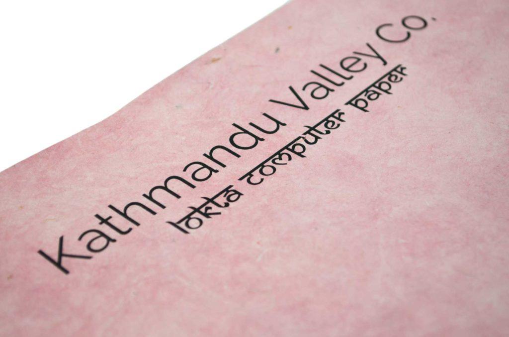 Kathmandu Valley Co. Lokta Paper Katshulha