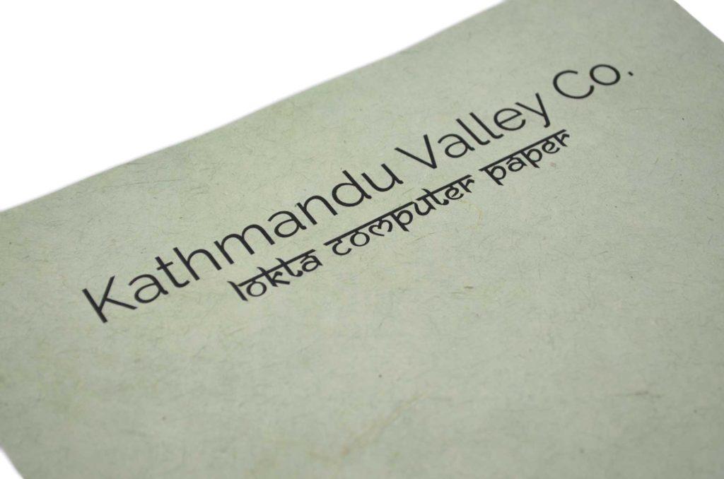 Kathmandu Valley Co. Lokta Paper Sarne