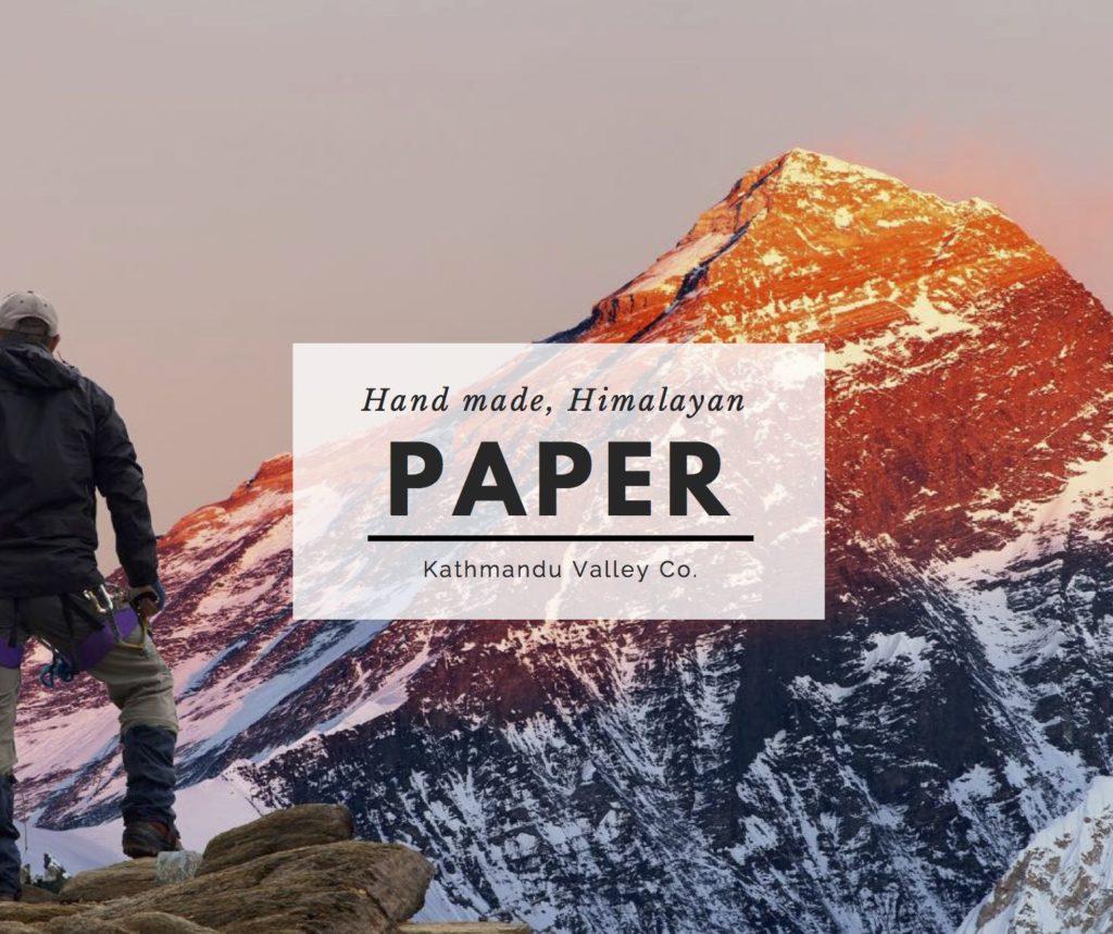 Handmade Himalayan Lokta Paper by Kathmandu Valley Co.