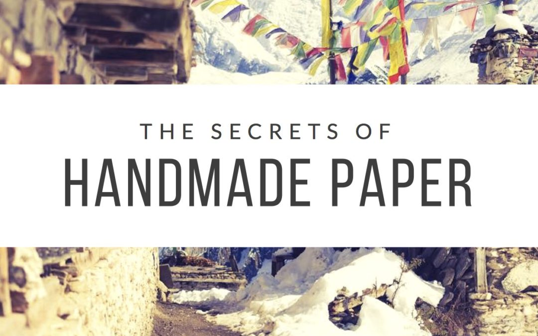 Learn what it takes to make handmade Lokta Paper