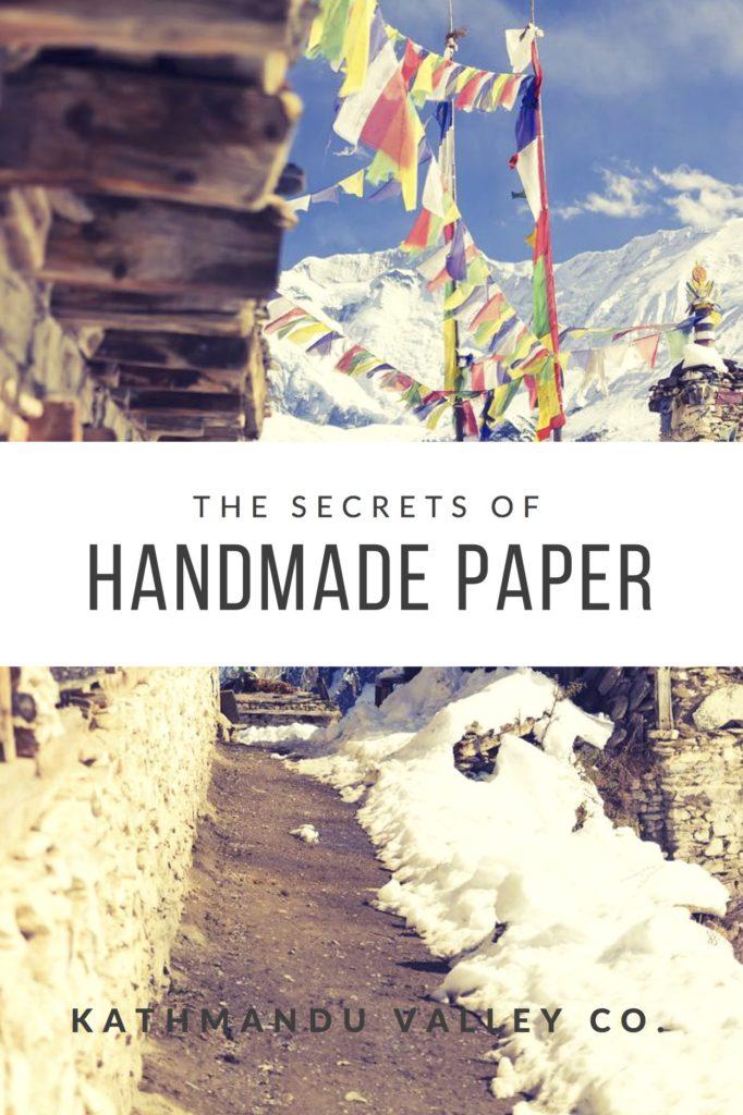 Secrets of Handmade Paper