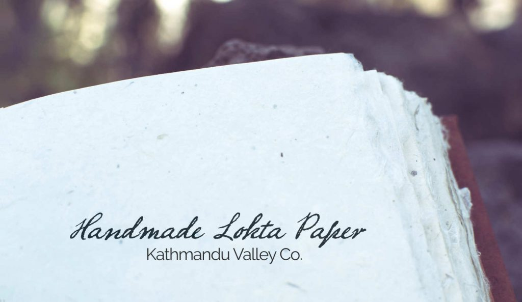 Lokta Paper handmade in Nepal
