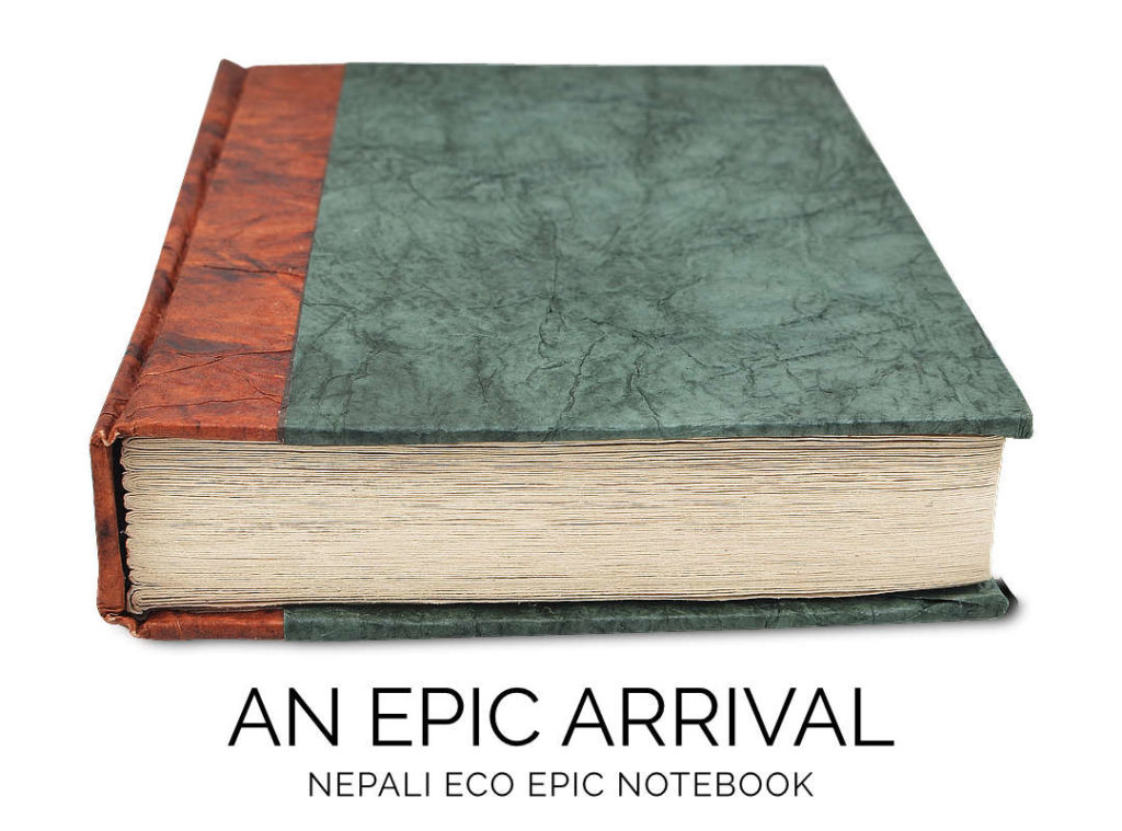 Nepali Eco Forest Green Epic Notebook