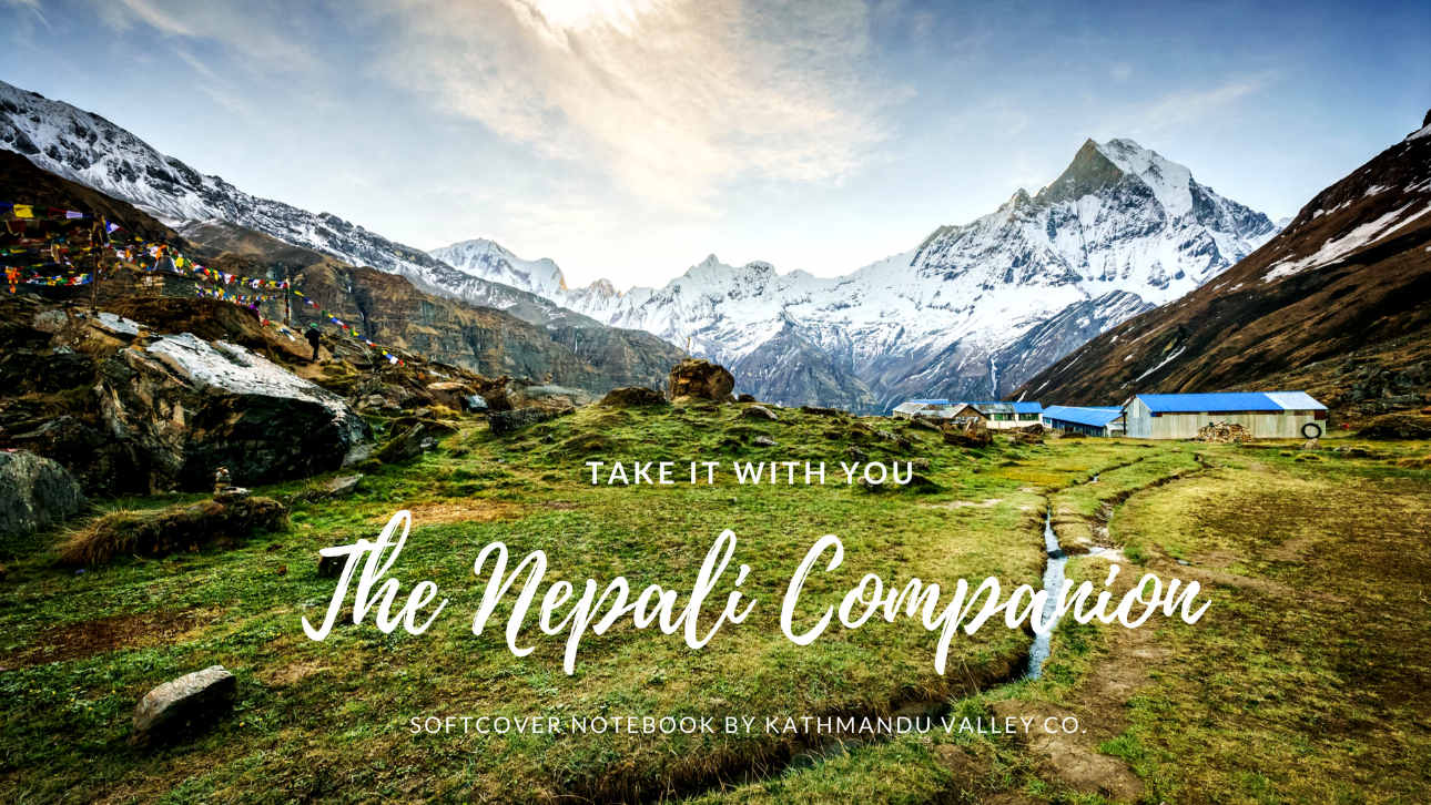 Nepali Companion Notebook Made With Real Lokta Paper