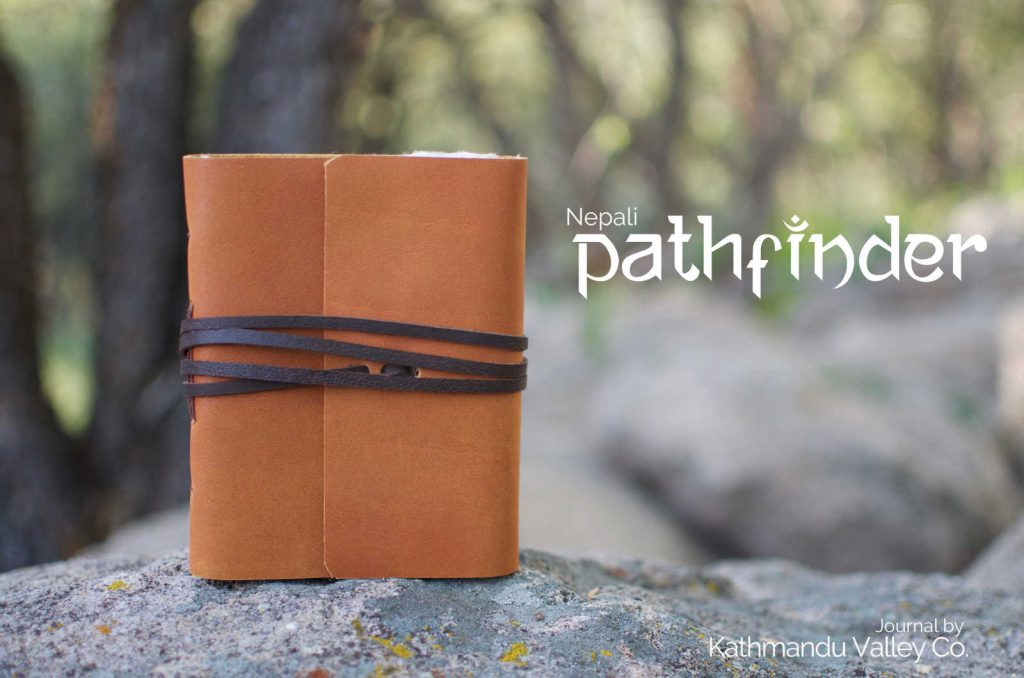Nepali Pathfinder Leather Journal