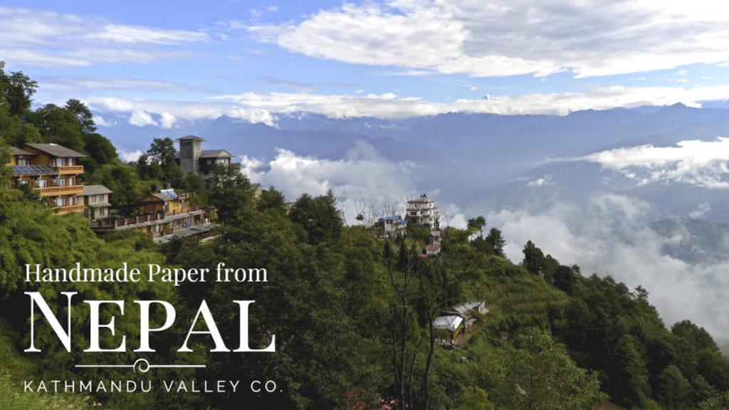 Handmade Paper from Nepal