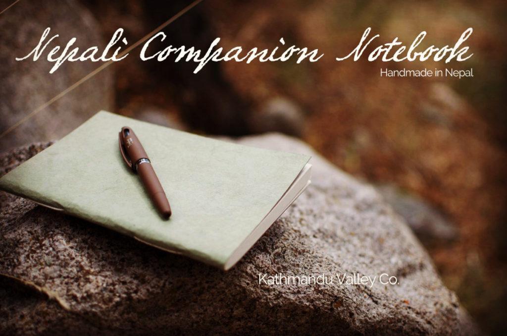 Nepali Companion Handmade Lokta Paper Notebook