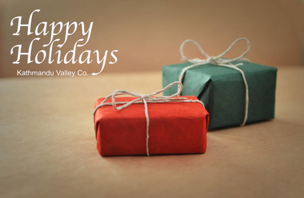 Happy Holidays from Kathmandu Valley Co.
