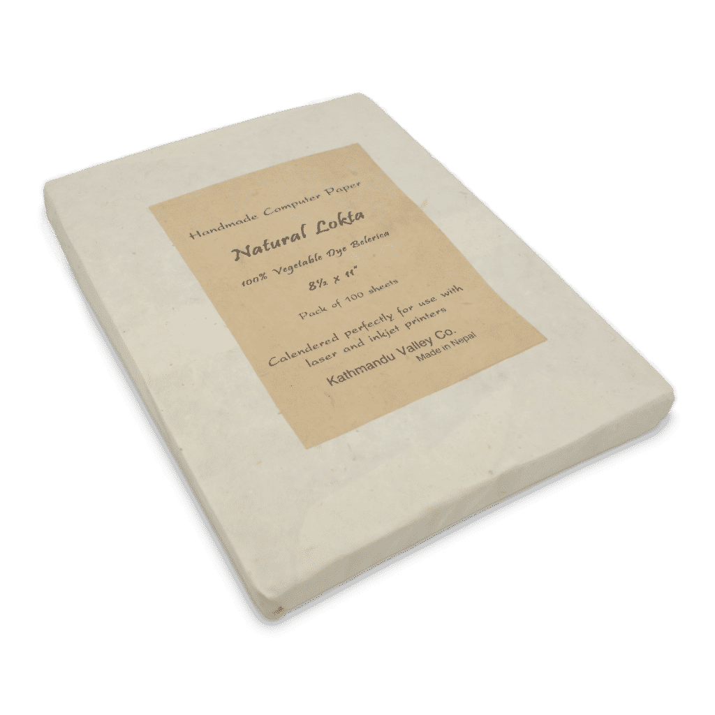 Handmade Lokta Printer Paper by Kathmandu Valley Co.