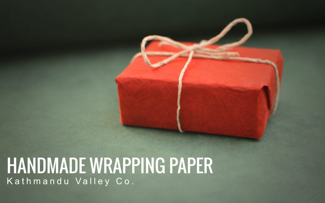 Give Your Gift a Special Touch with Handmade Wrapping Paper