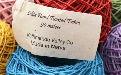 New Hand-Twisted Lokta Paper Twine